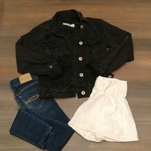 Abercrombie Kids lot (jeans/jacket/shorts) 2229